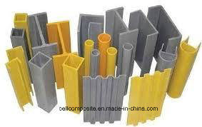 Fiberglass Pultruded Profiles/ FRP Shapes/ GRP Profiles pictures & photos