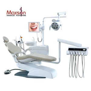 Left and Right Hand Operation Dental Chairs with Down-Mounted Instrument Tray