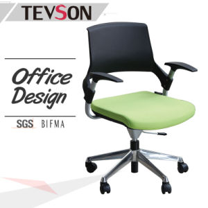 Office Morden Furniture Plastic Arm Chair with Comfortable Sitting Bag (DHS-P111) pictures & photos