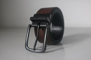 Men′s Reversible Genuine Leather Belt (HD-7030)