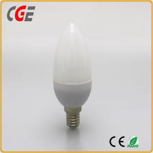 LED Candle Light Dimmable E14 5W Candle LED Bulb pictures & photos