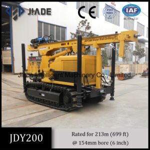 Jdy200 Tracked Mounted Borehole Rig Water Well Drilling Rig pictures & photos