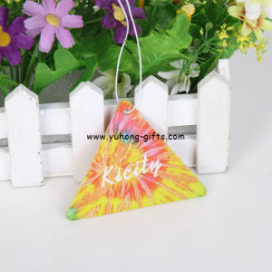 Custom Design Advertising Crafts Paper Air Perfume Freshener (YH-AF217) pictures & photos