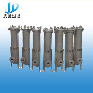 PE Bag Strainer Filter with SUS 304 Material Housing pictures & photos