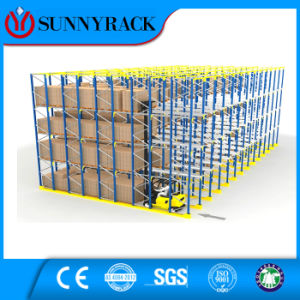 CE Approved Steel Drive-in Storage Pallet Rack pictures & photos