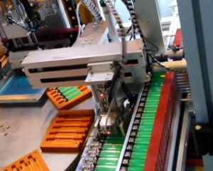 One Color Automatic Screen Printing Machine for Plastic Lighter with High Printing Speed pictures & photos