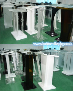 Custom Acrylic Stage Podium for Hotel (BTR-M1032) pictures & photos