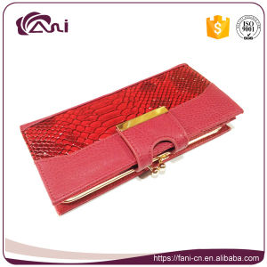 Red Color Lady Clutch Purse, PU Women Clutch Wallet, Clutch Money Bag with Cheap Price pictures & photos