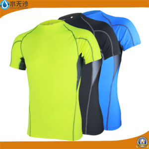 Wholesale 2017 Men Sport Wear Gym Wear Fitness T-Shirts