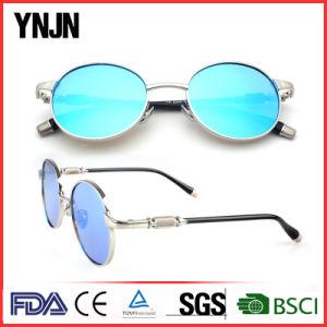 New Model Ynjn Round Lenses Mirrored Custom Logo Sunglass (YJ-F83487) pictures & photos