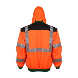 High Reflective Waterproof Safety Jacket with Padding pictures & photos