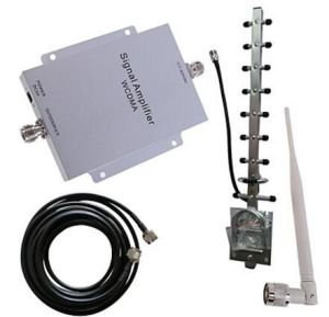 WCDMA 2100MHz Mobile Phone Signal Booster Amplifier Booster Antenna Kit 500m² New pictures & photos