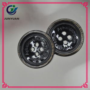 Textile and Clothing Accessories Resin Button Coat Buttons pictures & photos