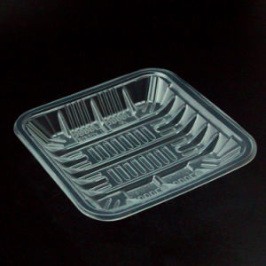Supermarket Plastic Plate Fresh Food Tray From China pictures & photos