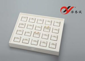 20 Components PU Leather Ear Stud Display Tray pictures & photos