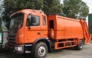 Exported 12 T Garbage Compress and Transport 12 Cbm Trash Collect Truck pictures & photos