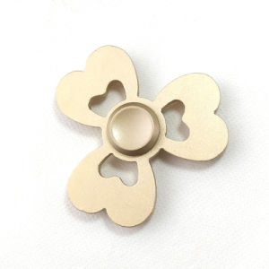 Turn for 5 Minutes Three Leaf Metal Hand Fidget Spinner pictures & photos