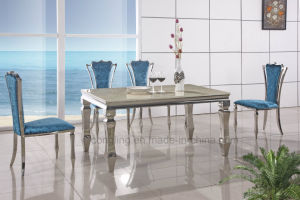 Latest Dining Table Design in Marble Dining Table (A8050)