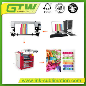 Multifunctional Ribbon Sublimation Rotary Heat Press Machine for Textile Printing pictures & photos