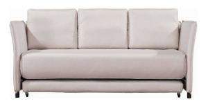 Modern Fabric Functional Sofa Bed with Armrest pictures & photos