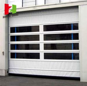 Unique Bifold Doors 7′ Wide High Speed Door (Hz-FC0521) pictures & photos