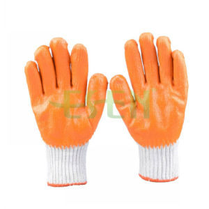 1/2 Latex Palm Coated Glove, Anti Skid and Cut Resistant Work Glove pictures & photos