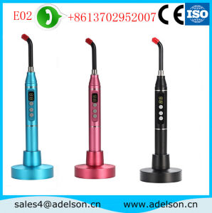 All Aluminum Alloy Handle Design LED Wireless Dental Curing Light