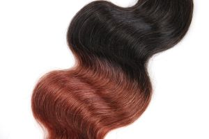 """High Quality Human Hair Body Weave Ombre Color 22"""" Unprocessed Virgin Brazilian Hair Extension pictures & photos"""
