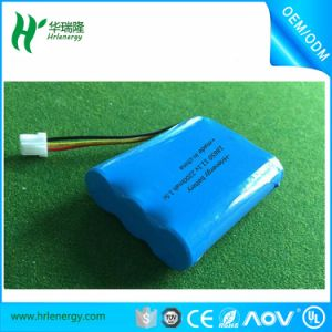 Lipo 18650 3s 11.1V 2200mAh Cylindrical Lithium-Ion Battery Pack pictures & photos