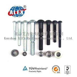 High Tensile Huck Bolt with Collar in Black Fasteners