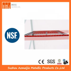 Steel Wire Mesh Decking for Pallet Rack Use pictures & photos