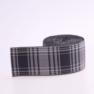 Thin 4 Inch Polyester/Nylon/Textile Elastic Ribbon for Bags pictures & photos