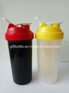 BPA Free Plastic Protein Shaker Bottle with 7 Days Pillbox pictures & photos