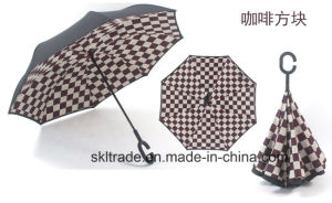 High Quality Portable Handsfree Straight Reverse Inverted Umbrella