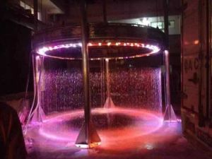 LED Indoor Water Feature Decoration Digtal Waterfall for Stage Performance pictures & photos