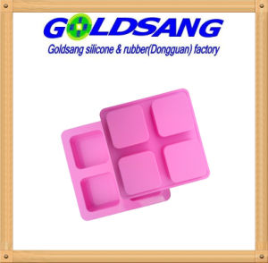 4-Cavity Craft Art Silicone Soap Mold Craft Molds pictures & photos