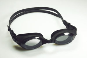 Good Quality Silicone One Piece Aqua Goggles pictures & photos