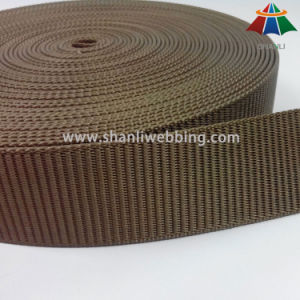 5cm Heavyweight Ladder Weavy Type Khaki Nylon Webbing for Waistband Belt pictures & photos