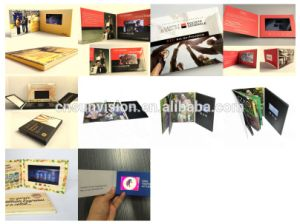 Business Advertising Card Music LCD Screen Gift Box pictures & photos