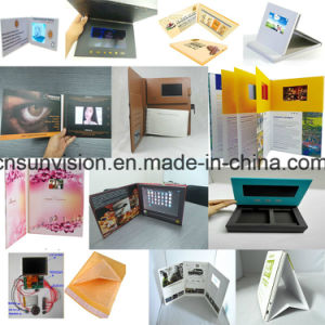 Video Brochure LCD Music Card Digital Photo Frame Gift Box pictures & photos