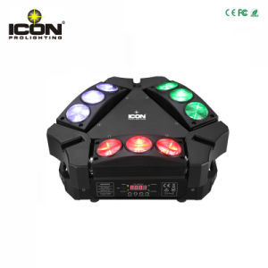 Professional 9pcsx10W Mini Spider LED Moving Head Beam Light pictures & photos