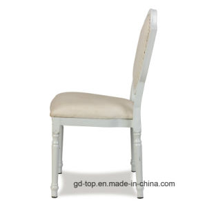 Round Back Wood-Look Aluminum Hotel Banquet Chairs pictures & photos