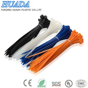 Huada Cable Tie/ Wire Tie/Cable Accessory/Nylon Cable Tie 4.8X200 mm pictures & photos