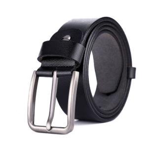 Fashion Genuine Men′s Belts Full Grain Leather Belt for Men pictures & photos