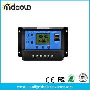 10A/20A/30A PWM 12/24/48V Solar Charge Controller with USB pictures & photos