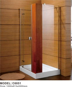 French Shower Enclosure, 6mm Glass Bathroom Shower Room Price in India pictures & photos