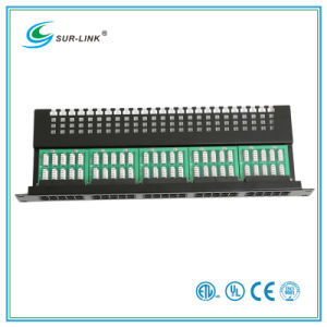 50 Port Cat3 Telephone Patch Panel pictures & photos
