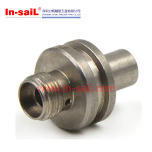 Stainless Steel CNC Turning Round Tube Connector pictures & photos