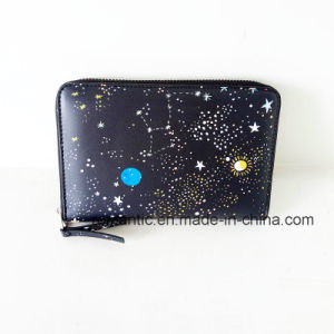 Brand Designer Fashion Women PU Painting Wallet (NMDK-061605) pictures & photos