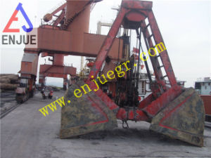 Single Rope Touch Open Clamshell Grab Bucket for Bulk Cargo pictures & photos